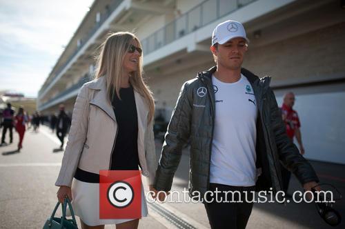 Vivian Rosberg and Nico Rosberg 1