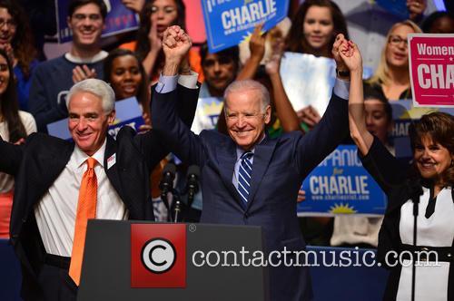 Charlie Crist, U.s. Vice President Joe Biden and Annette Taddeo 7