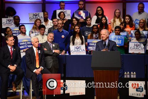 Joe Garcia, Charlie Crist, Henry Munoz and U.s. Vice President Joe Biden 6