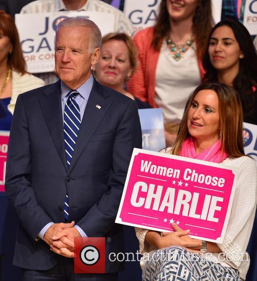 U.s. Vice President Joe Biden and Carole Crist 4