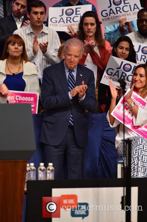 U.s. Vice President Joe Biden and Carole Crist 7