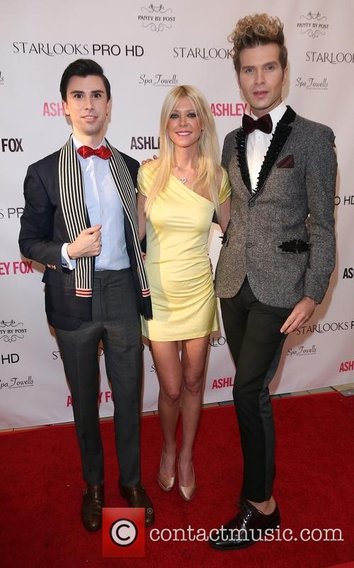 Tara Reid and Masiela Lusha launch their signature...