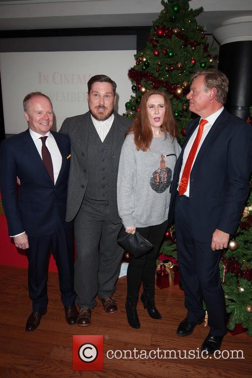 Catherine Tate, Martin Clunes, Marc Wootton and Jason Watkins 3
