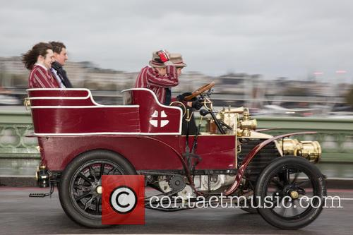 Bonhams London to Brighton Veteran Car Run 2014