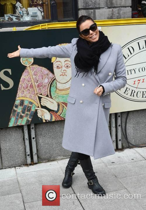 Eva Longoria out and about in Dublin