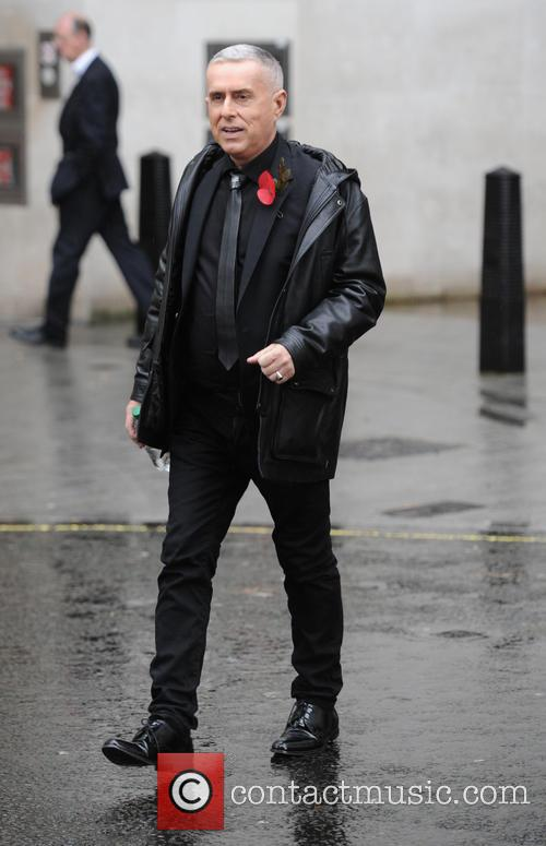 Holly Johnson out in London