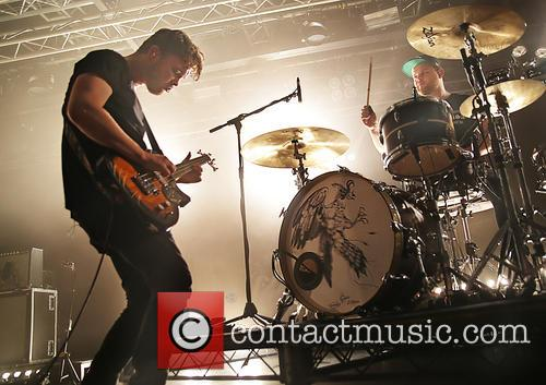 Royal Blood, Mike Kerr and Ben Thatcher 3