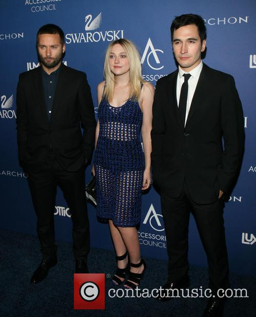 Jack Mccollough, Dakota Fanning and Lazaro Hernandez 3