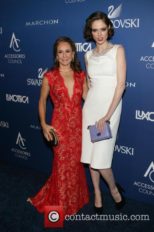 Karen Giberson and Coco Rocha 2