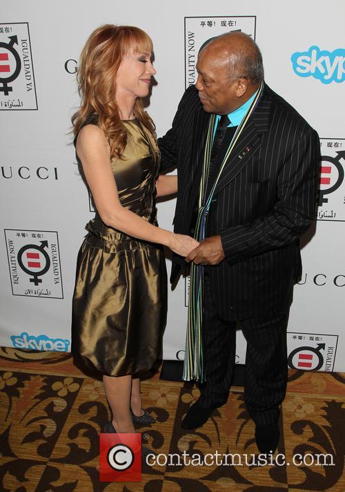 Kathy Griffin and Quincy Jones 5
