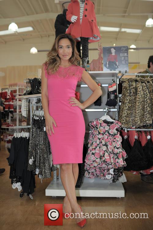 Myleene Klass attends re opening of Solihull Mothercare...