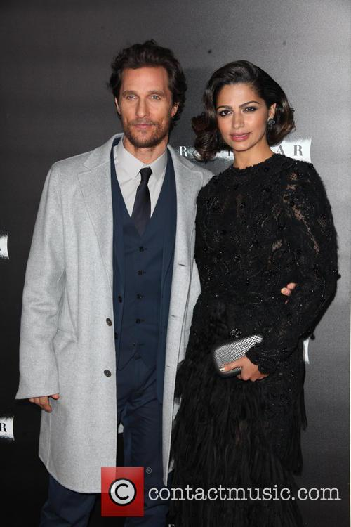 Matthew Mcconaughey and Camila Alves 2