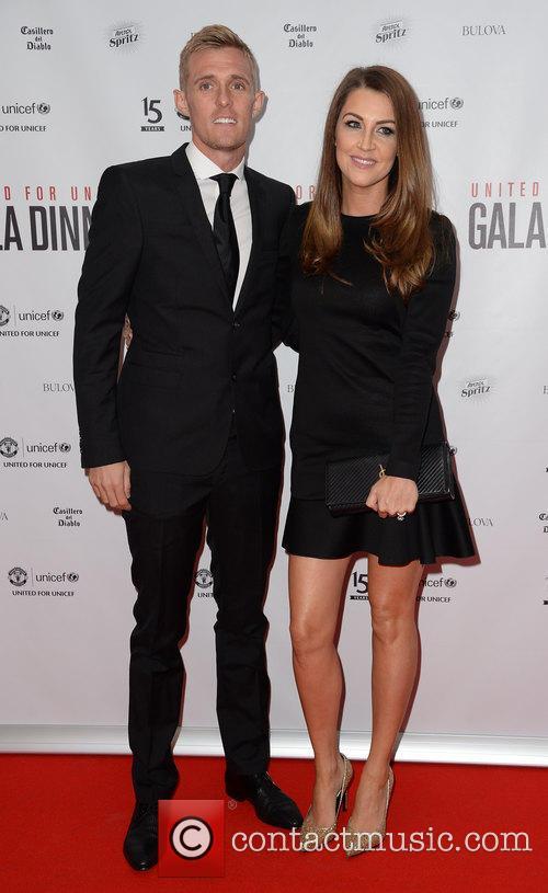 Darren Fletcher and Hayley Grice 1