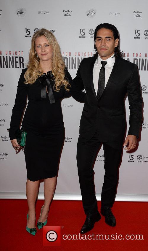 Radamel Falcao and Lorelei Taron 2