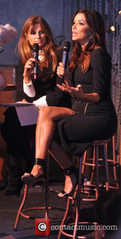 Jemima Khan and Eva Longoria 6