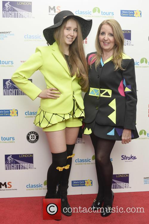Gillian Mckeith and Afton Mckeith-magaziner 1