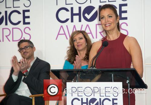 Dave Annable, Allison Janney and Bellamy Young 5