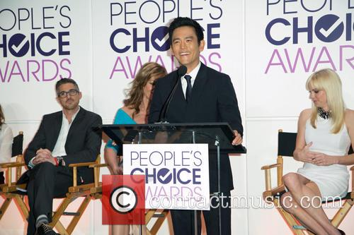 Dave Annable, Allison Janney, John Cho and Anna Faris 6