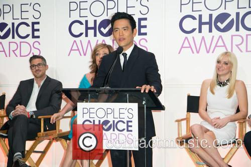Dave Annable, Allison Janney, John Cho and Anna Faris 7