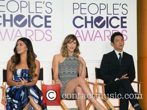 Gina Rodriguez, Katherine Mcphee and John Cho 8