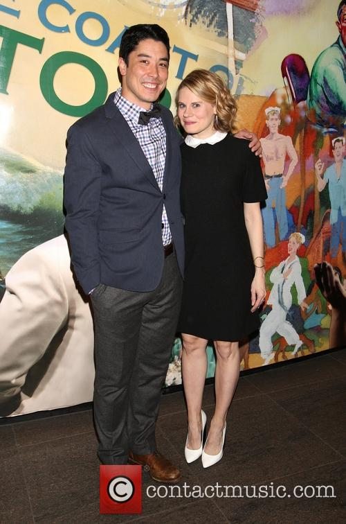 James Yaegashi and Celia Keenan-bolger 3