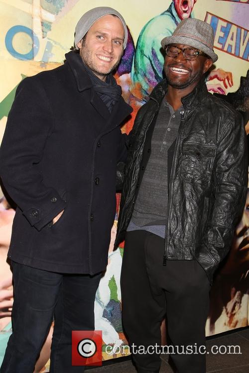 Steven Pasquale and Taye Diggs 2