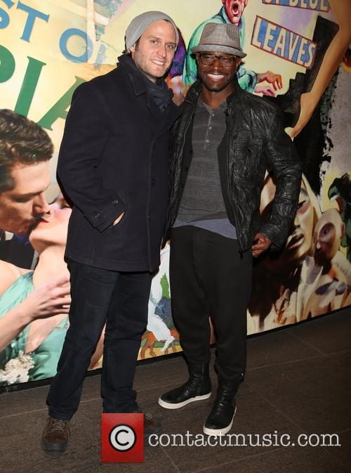 Steven Pasquale and Taye Diggs 1