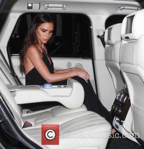 Victoria Beckham leaving the Harper's Bazaar Women of...