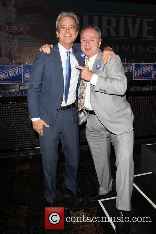 Bobby Shriver and Councilmember Tom Labonge 3