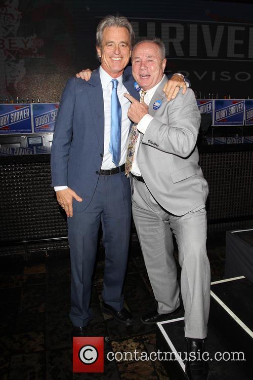 Bobby Shriver and Councilmember Tom Labonge 4
