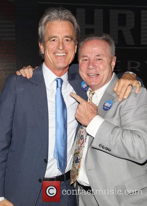 Bobby Shriver and Councilmember Tom Labonge 5