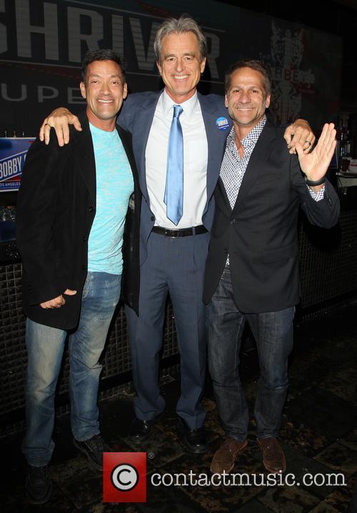 John Duran, Bobby Shriver and John D'amico 3
