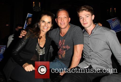 Maria Shriver, David Cooley and Patrick Schwarzenegger 5