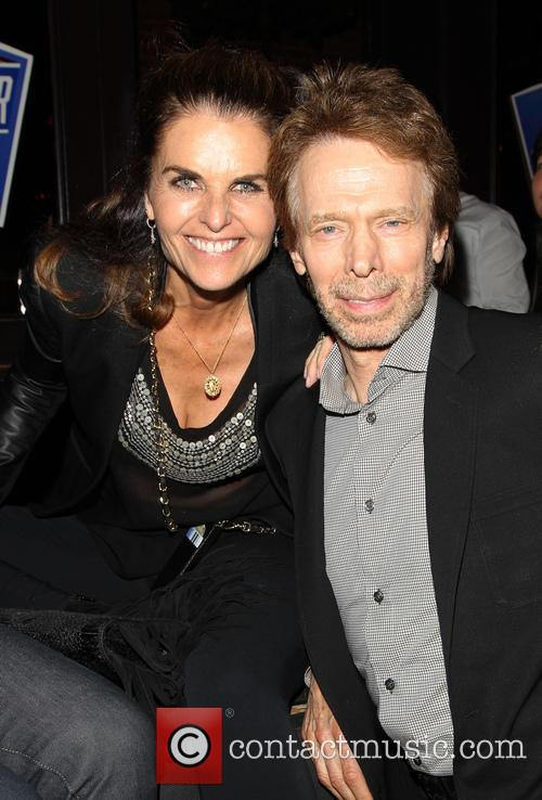 Maria Shriver and Jerry Bruckheimer 2