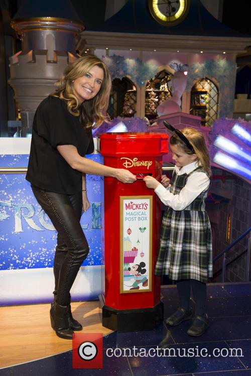 Tina Hobley and Daughter Olivia