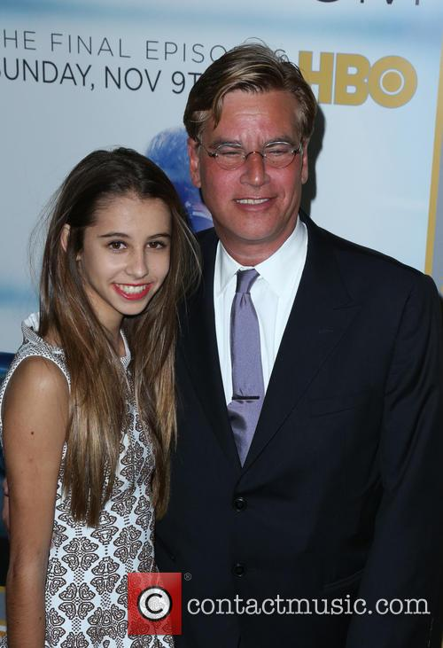 Roxy Sorkin and Aaron Sorkin 2