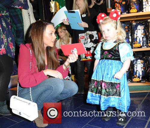 Celebrities attend the launch of Disney Store's 'Share...