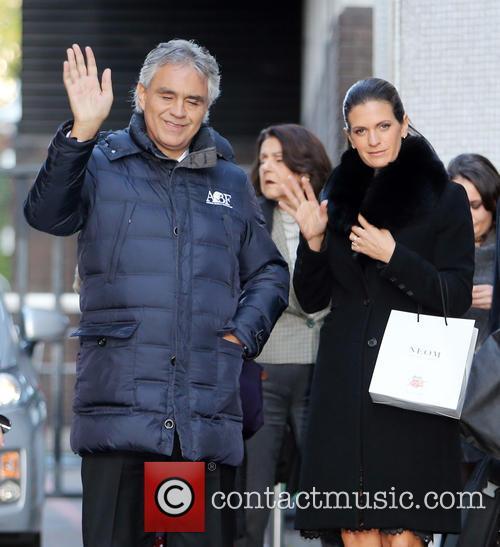 Andrea Bocelli and Veronica Berti 4