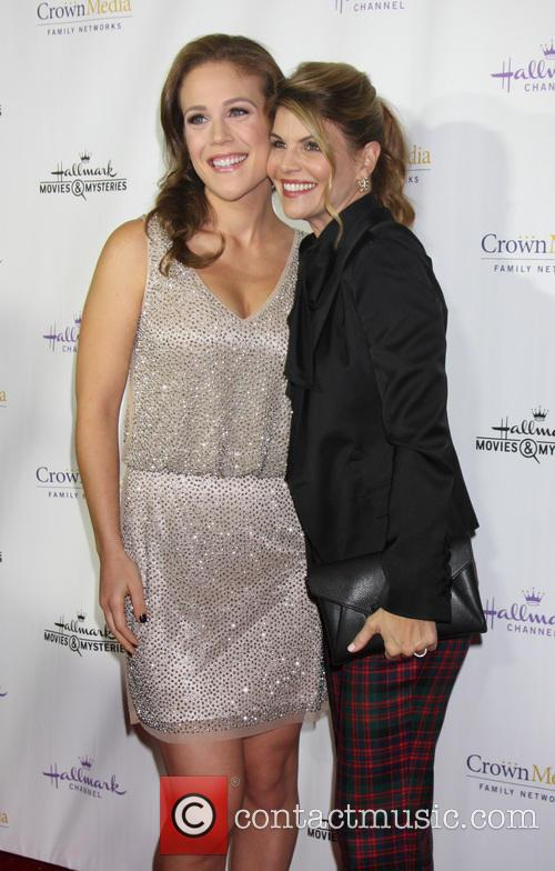 Erin Krakow and Lori Loughlin 5