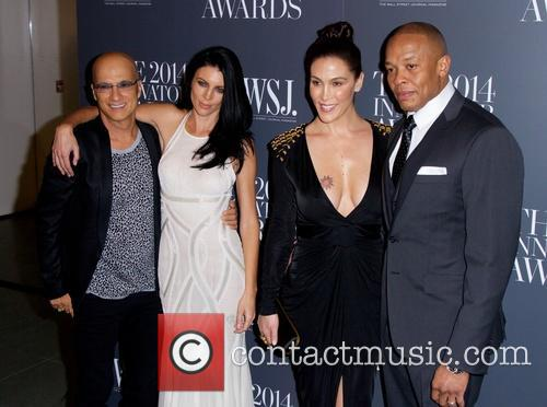 Jimmy Iovine, Liberty Ross and Dr Dre