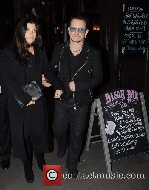 Ali Hewson and Bono 1