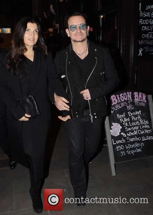 Ali Hewson and Bono 2