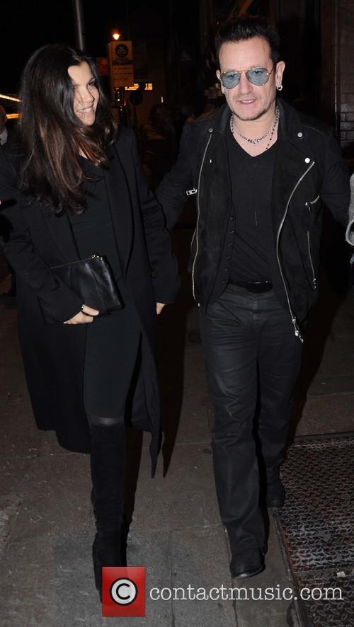 Ali Hewson and Bono 4