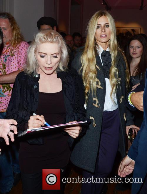Debbie Harry and Laura Bailey (right) 11