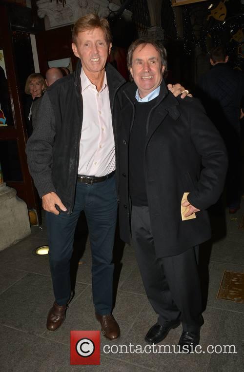 Chris De Burgh and Dickie Rock 1