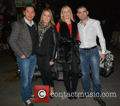Grease, Jason Sherlock, Louise Sherlock, Pamela Dunne and Bernard Dunne 1