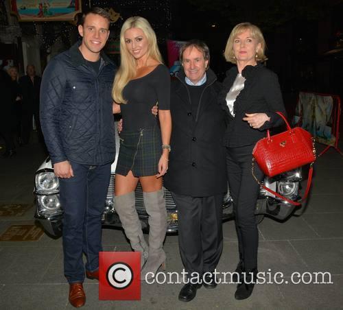 Wesley Quirke, Rosanna Davison, Chris De Burgh and Diane Davison 3