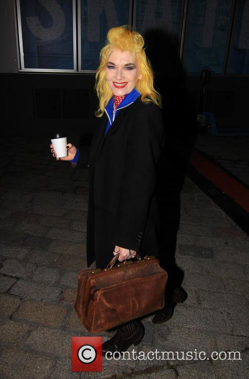 Pam Hogg attending Chris Stein/Negative: Me, Blondie, and...