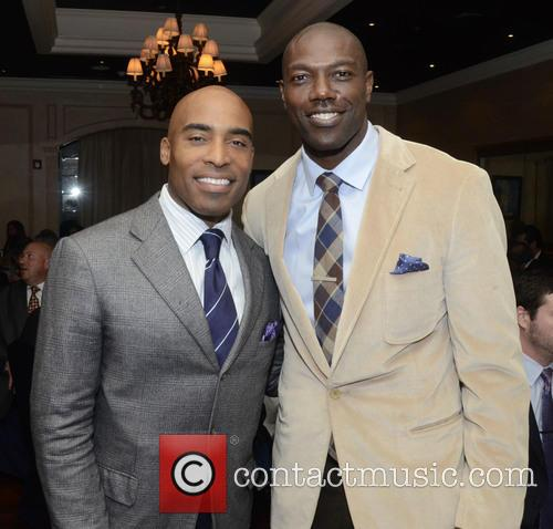 Tiki Barber and Terrell Owens 2