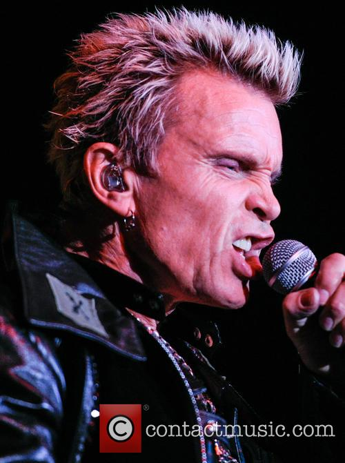 Billy Idol live at O2 Academy Birmingham in 2014 - 1
